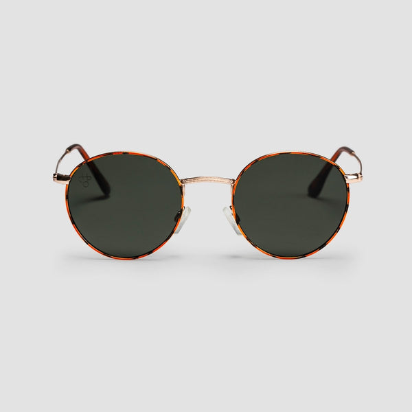 CHPO Liam Sunglasses Turtle Brown/Green - Unisex - Accessories