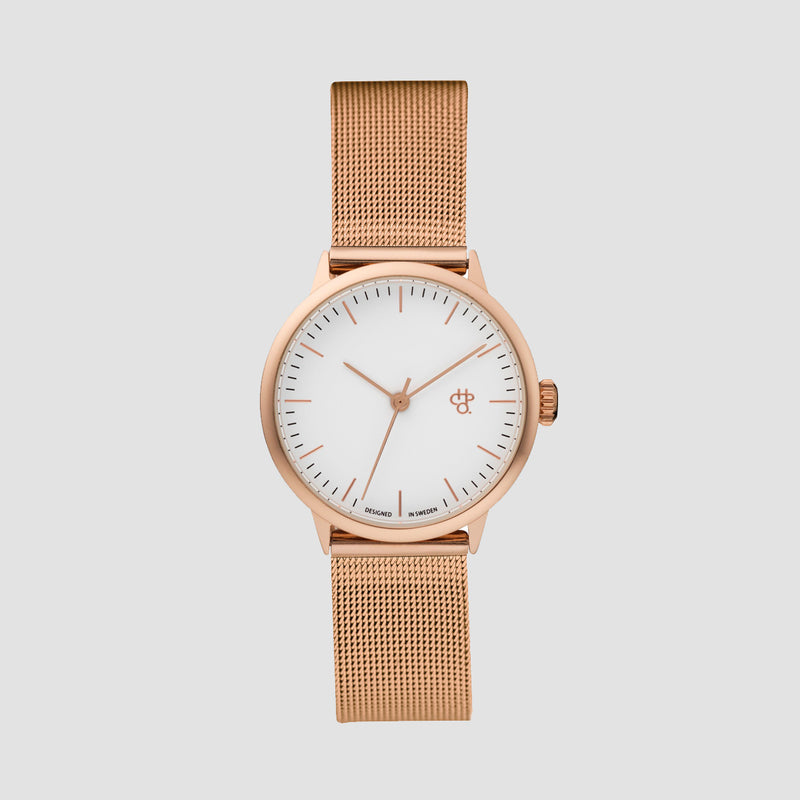 CHPO Nando Mini Watch Rose/Rose/White - Unisex