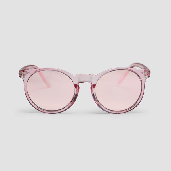 CHPO Pink Rocks Sunglasses Pink/Pink Mirror - Unisex - Accessories