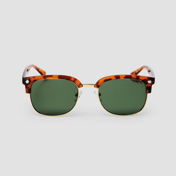 CHPO Rumi Sunglasses Turtle Brown/Green - Unisex - Accessories