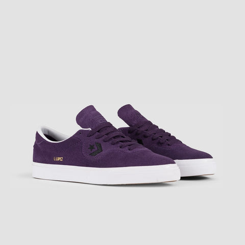 Converse Louie Lopez Pro Ox Grand Purple/Black/White - Unisex L - Footwear