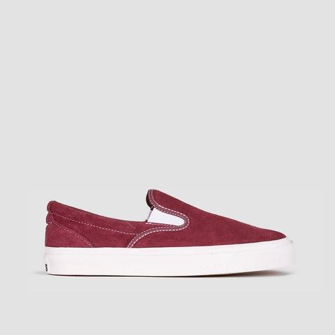 Converse One Star CC Slip Pro Dark Burgundy/White - Unisex L
