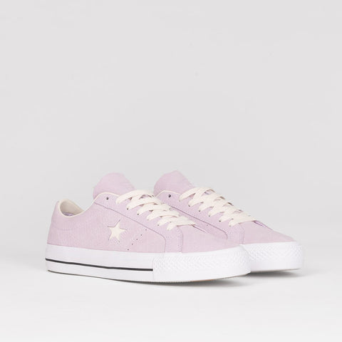 Converse One Star Pro Barely Grape/Driftwood/White - Unisex L - Footwear