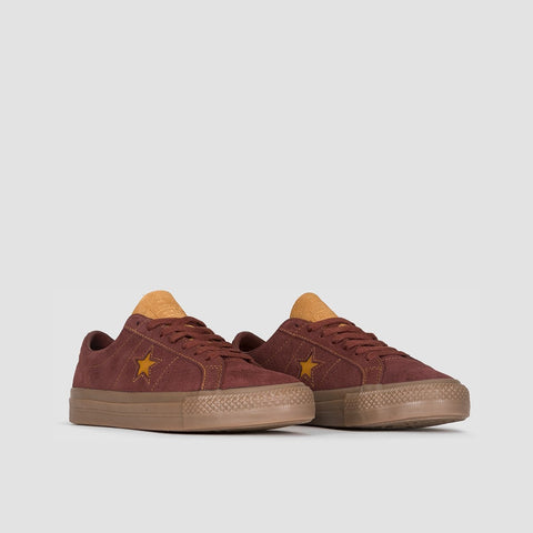 Converse One Star Pro Ox Barkroot Brown/Ale Brown - Unisex L - Footwear