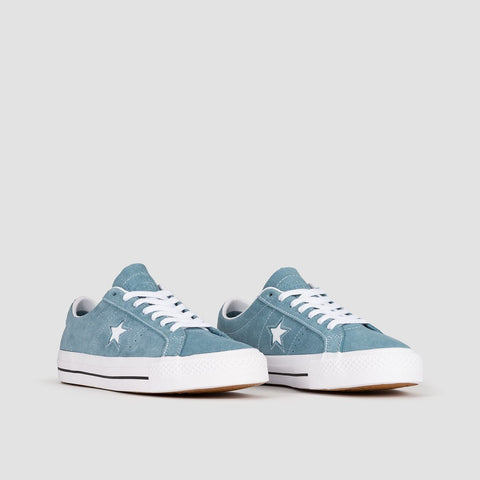 Converse One Star Pro Ox Celestial Teal/Black/White - Footwear
