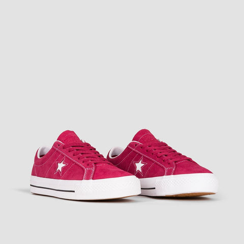 Converse One Star Pro Ox Rhubarb/Black/White - Footwear
