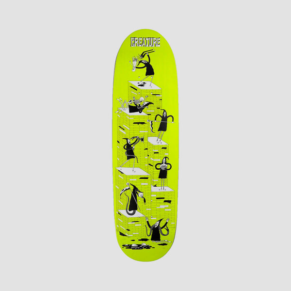 Creature Free For All Powerply Deck Yellow - 8.8""