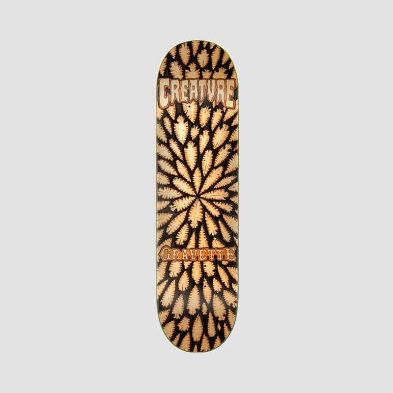 Creature Gravette Leather Pro Deck Multi - 8.3""