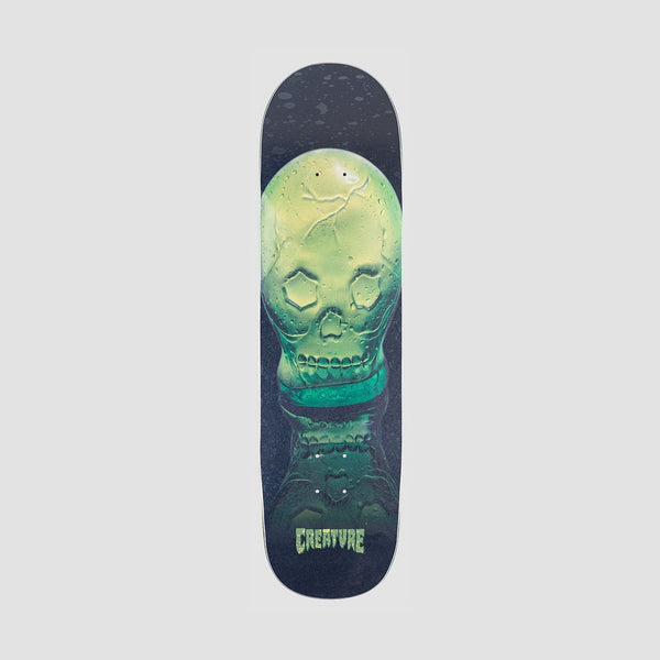 Creature Green Skull Everslick Deck - 8.59 - Skateboard