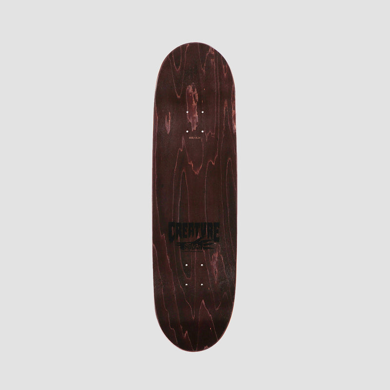 Creature Logo Stump Deck Black - 9""