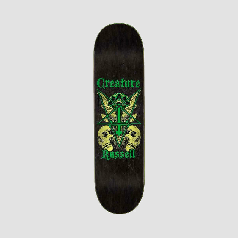 Creature Russell Coat of Arms VX Deck Black/Green - 8.6""