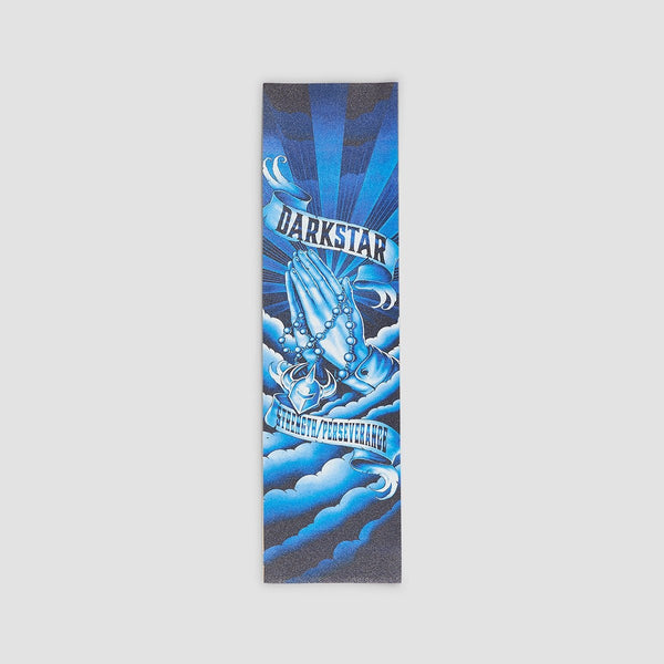 Darkstar Salvation Grip Tape Blue/Black - 9 - Skateboard