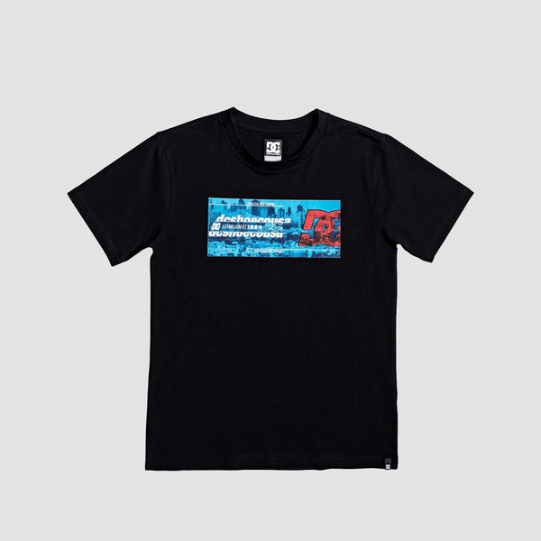DC Allnight Tee Black - Kids