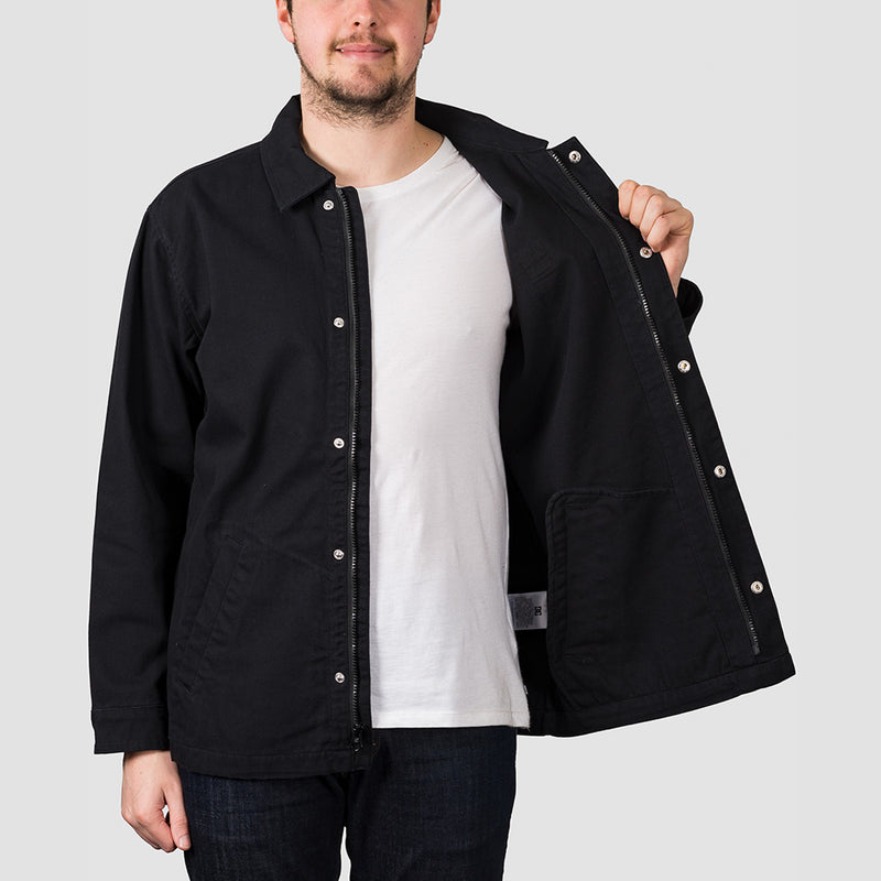 DC Alton Coach Jacket Black