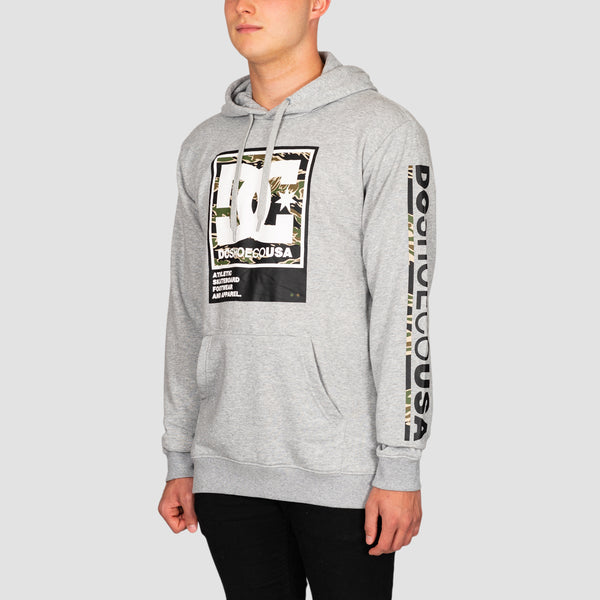 DC Arakana Pullover Hood Grey Heather