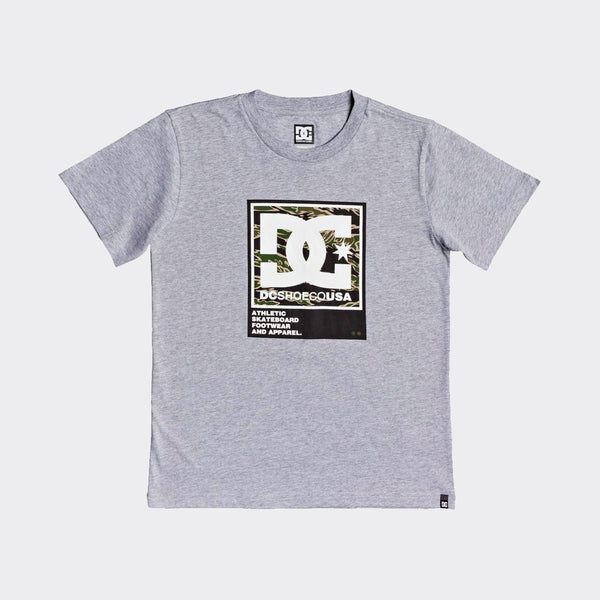 DC Arakana Tee Grey Heather - Kids