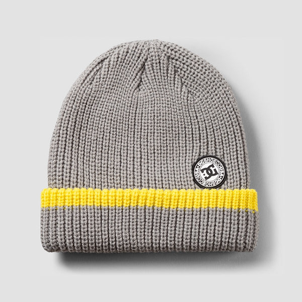 DC Backside Beanie Neutral Grey - Accessories