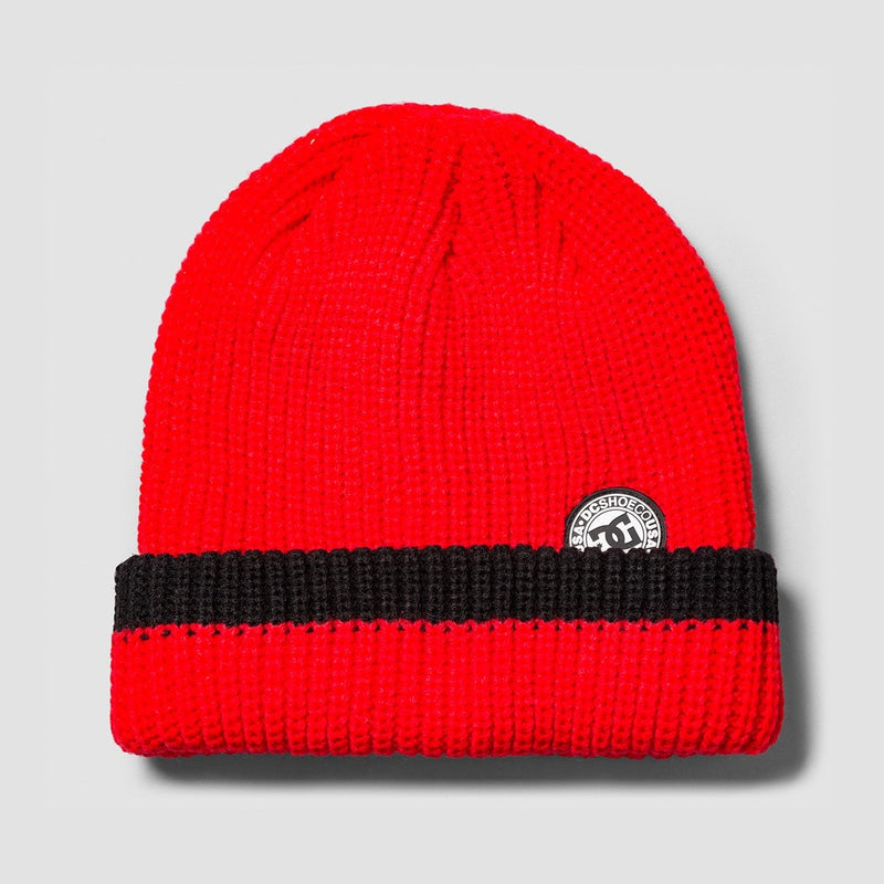 DC Backside Beanie Racing Red - Accessories