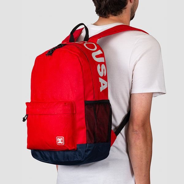 DC Backsider 18.5L Backpack Racing Red
