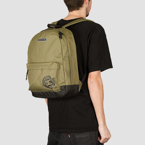 DC Backstack 18.5L Backpack Burnt Olive - Accessories