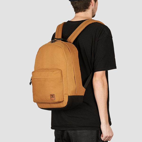 DC Backstack Canvas 18.5L Backpack DC Wheat - Accessories