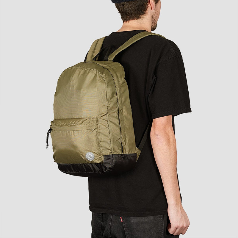 DC Backstack Fabric 18.5L Backpack Burnt Olive - Accessories