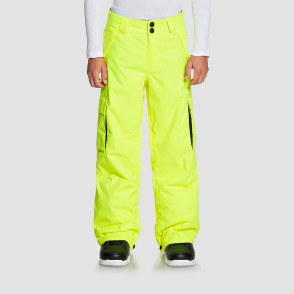 DC Banshee Snow Pants Safety Yellow - Kids