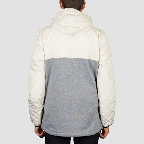 DC Barricade Pullover Hood Silver Birch - Clothing