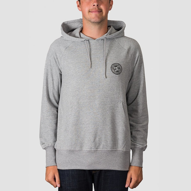 DC Belham Pullover Hood Grey Heather - Clothing