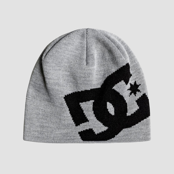 DC Big Star Beanie Grey Heather - Accessories