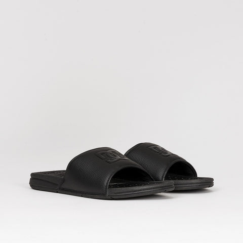 DC Bolsa Sandals Black/Black/Black - Footwear