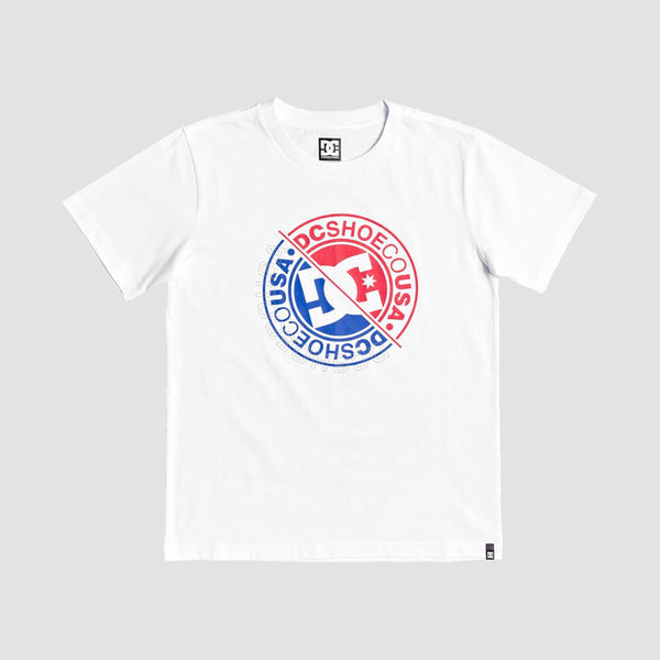 DC Bright Roller 3 Tee White - Kids