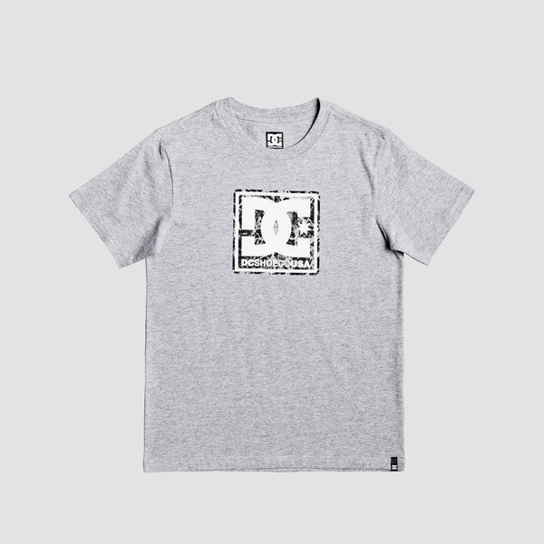 DC Butane Box Tee Grey Heather - Kids