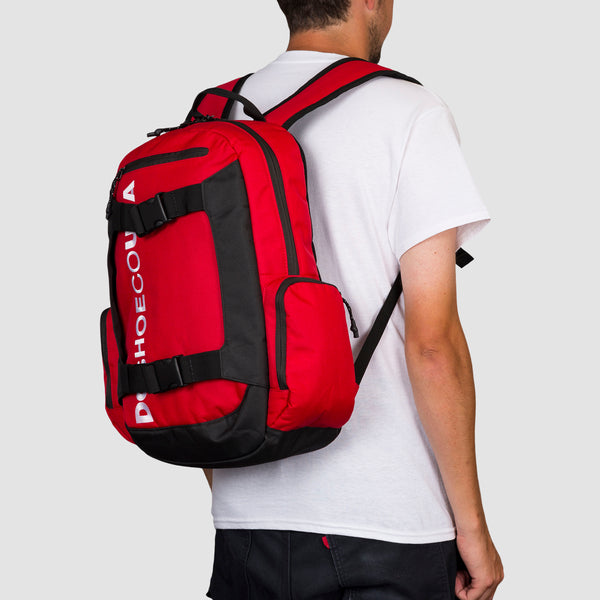 DC Chalkers 28L Backpack Racing Red