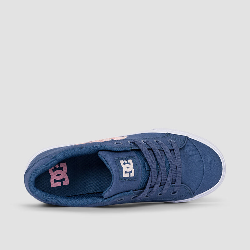 DC Chelsea Light Navy/Pink - Womens