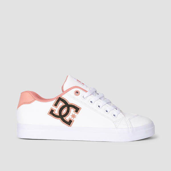 DC Chelsea Plus SE White/Pink - Womens
