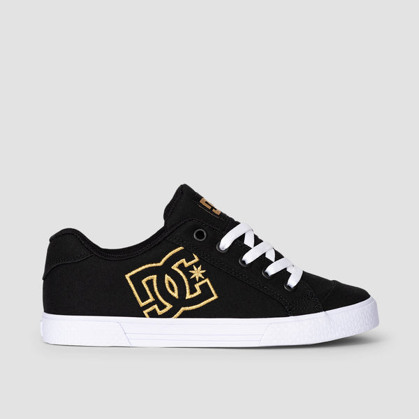 DC Chelsea TX Black/Gold - Womens