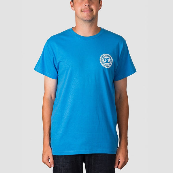DC Circle Star FB 2 Tee Brilliant Blue - Clothing