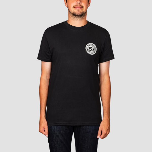 DC Circle Star FB Tee Black/Snow White