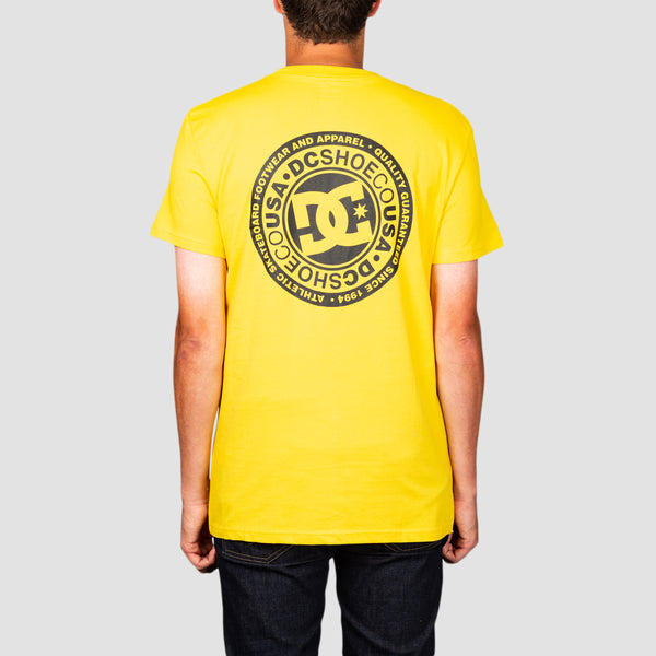 DC Circle Star FB Tee Dandelion/Black