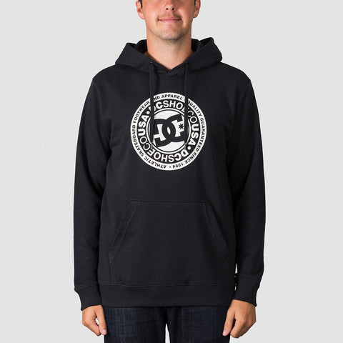 DC Circle Star Pullover Hood Black