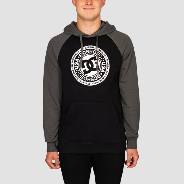 DC Circle Star Pullover Hood Black/Dark Shadow