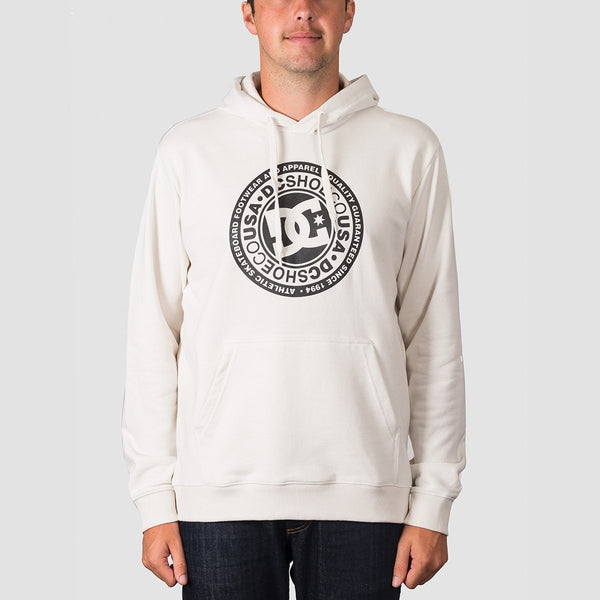 DC Circle Star Pullover Hood Snow White - Clothing