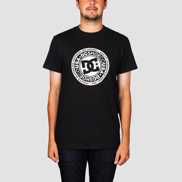 DC Circle Star Tee Black/Snow White