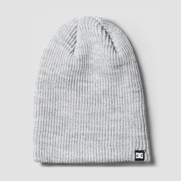 DC Clap Beanie Grey Heather - Accessories