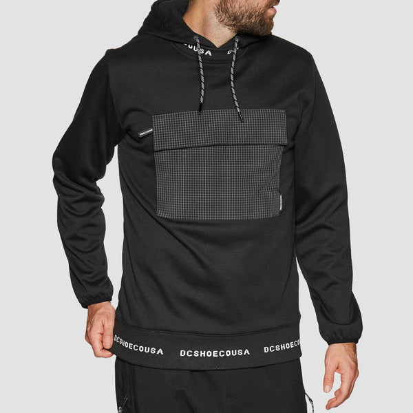 DC Commuter Pullover Snow Hood Black