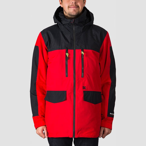 DC Company Packable Snow Jacket Racing Red