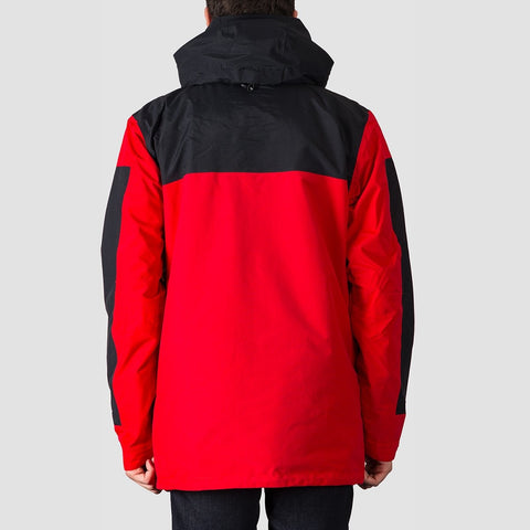 DC Company Packable Snow Jacket Racing Red - Snowboard