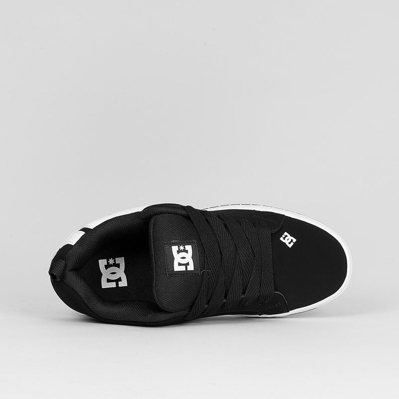 DC Court Graffik Black - Footwear