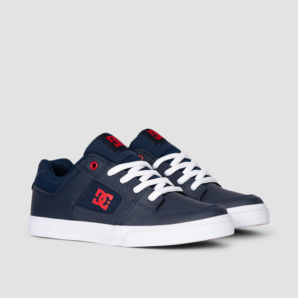 DC Pure Navy/White - Kids